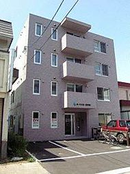 北海道札幌市北区北三十六条西10丁目の賃貸マンションの外観