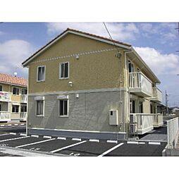 茨城県神栖市堀割2丁目の賃貸アパートの外観