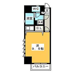 ダイナコート千代県庁口[10階]の間取り