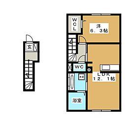 shoushou惣[2階]の間取り