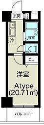 ノルデンハイム淡路[8階]の間取り