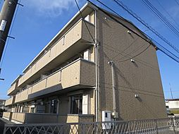 千葉県千葉市稲毛区小深町の賃貸アパートの外観