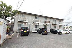 岡山県岡山市南区松浜町の賃貸アパートの外観