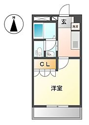 ビクトリー桜町[1階]の間取り