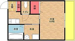 ライブスクエアー2[8階]の間取り