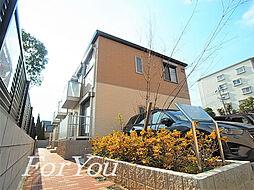 兵庫県神戸市東灘区住吉山手4丁目の賃貸アパートの外観
