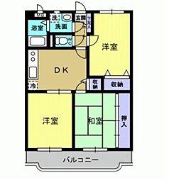 ユーミーAOKI[A501号室]の間取り