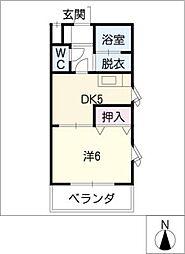 MERVEILLE12[1階]の間取り