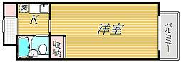 日神パレステージ宮崎台[3階]の間取り