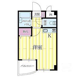リーフマンション[2階]の間取り