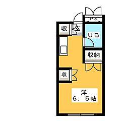 彩季館[5階]の間取り