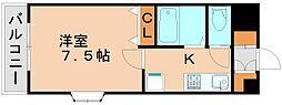 シャンテ吉塚[4階]の間取り