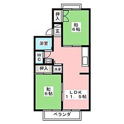 六丁の目駅 6.4万円