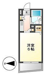 メゾン・ド・セーヌ[2階]の間取り