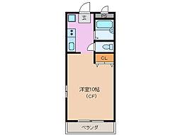 サンパーク鈴鹿[3階]の間取り