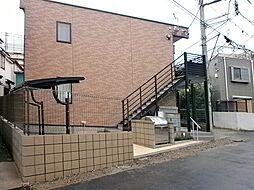 神奈川県横浜市神奈川区西大口の賃貸アパートの外観