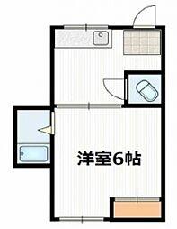 ジュネス中野本町[203号室号室]の間取り