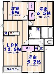 仮)D-Room妙典5丁目[201号室]の間取り