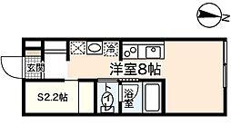 プリマヴェーラ大竹[2階]の間取り