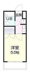 美咲の翔ヒルズ[4階]の間取り