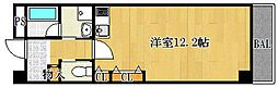 ステーションハイツ南茨木[705号室]の間取り