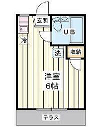 第6寺富リハイム[1階]の間取り