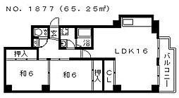 レジデンストーア[305号室号室]の間取り