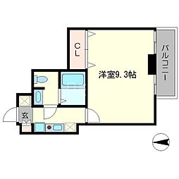 おおきに出町柳サニーアパートメント(S−CREA出町柳)[3階]の間取り