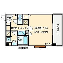 アドバンス新大阪CityLife[6階]の間取り