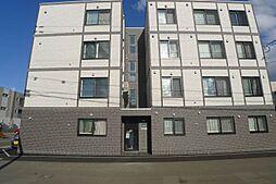 北海道札幌市南区澄川三条3丁目の賃貸マンションの外観