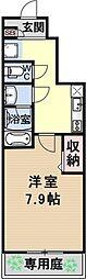 仮称)伏見小栗栖プロジェクト[102号室号室]の間取り