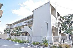神奈川県厚木市岡田2丁目の賃貸マンションの外観