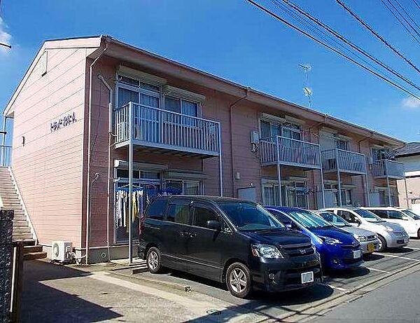 埼玉県北本市北本4丁目の賃貸アパートの外観