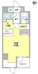 神奈川県横浜市緑区長津田6丁目の賃貸マンションの間取り