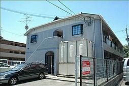 大阪府茨木市真砂2丁目の賃貸アパートの外観