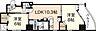 間取り,1SLDK,面積54.72m2,賃料14.0万円,JR山陽本線 広島駅 徒歩10分,広島電鉄9系統 女学院前駅 徒歩5分,広島県広島市中区鉄砲町
