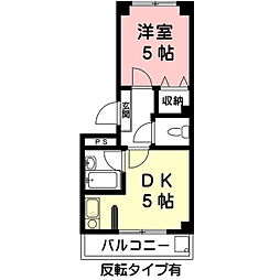 Casa SophiaIII[3階]の間取り