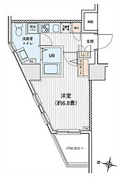 プリモレガーロ町田[0903号室]の間取り