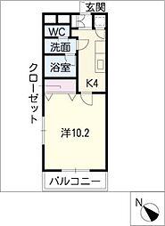 ピンワーク[2階]の間取り