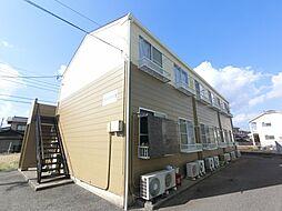 千葉県市原市大厩の賃貸アパートの外観