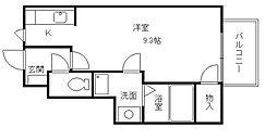 サンテ高石[1階]の間取り