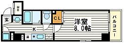 I Cube瓦屋町[4階]の間取り