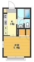Green flats[2階]の間取り