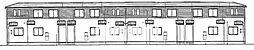 [テラスハウス] 岡山県岡山市南区豊浜町 の賃貸【/】の外観