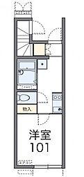 レオネクストベルリス[1階]の間取り