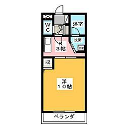 大井手ガーデンテラス[3階]の間取り