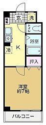 マキビル王子台[5階]の間取り