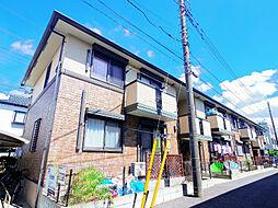 埼玉県志木市中宗岡3丁目の賃貸アパートの外観