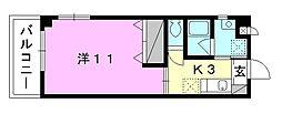 FPラボ小坂[301 号室号室]の間取り