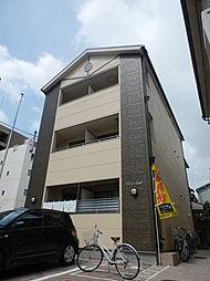 大阪府大阪市此花区西九条1丁目の賃貸アパートの外観